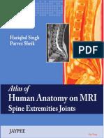 Atlas of Human Anatomy on MRI