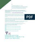 NEPTUNO RETROGRADO, y Planetas Transpersonales en Transito 2013-2014