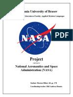 Mustata Mihai - NASA