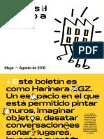 Harinera ZGZ Mayo - Agosto 2018