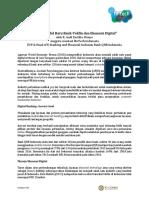 Fintech Talk - Opini Editorial 22 - Model Baru Bank-Tekfin Dan Ekonomi D...