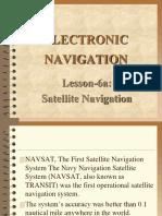 Elec.nav L06a Satellite Nav