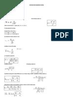 Formulae Sheet Business Statistic