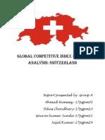 GCI Analysis Switzerland