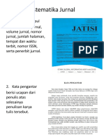 Sistematika Jurnal