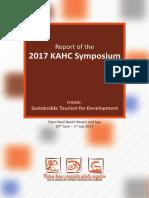 KAHC 2017 Symposium Report