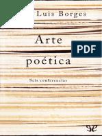 Arte Poetica Jorge Luis Borges
