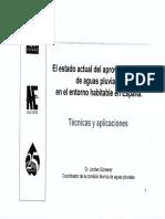Estado Actual Aprovechamiento Aguas Pluviales en España