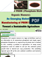 Production of PROM (Phosphate Rich Organic Manure)