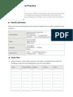 Pet Speaking Test Worksheet