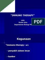 imunoterapi
