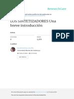 LOS SINTETIZADORES Una Breve Introduccion