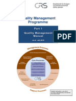Quality Management Programme A