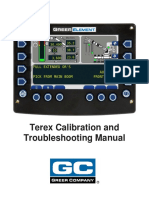 W450305D Element Terex Calibration Troubleshooting English