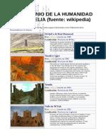 Patrimonio de La Humanidad en Argelia