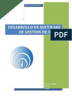 Desarrollo de Software Gestion de Obra