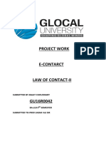 Project Work of Contract (1)