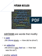 Adverb Rules Powerpoint
