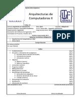 Arquitectura de Computadoras II Plan 2013