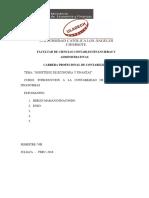 Ministerio de Economia y Finanzas -Grupo