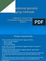 Well Logging Porosity Methods