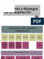 Anatomía y Fisiología de La Respiración