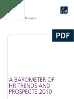 Barometer HR Trends Prospects 2010