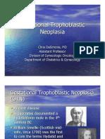 Gestational Trophoblastic Neoplasia
