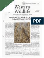 AB Western Wildlife Article