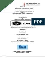 Export Procedures in Akay Industry Pvt Ltd