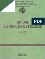 Muzica CCPCT Ghidul Iubitorilor de Folclor 6 2016