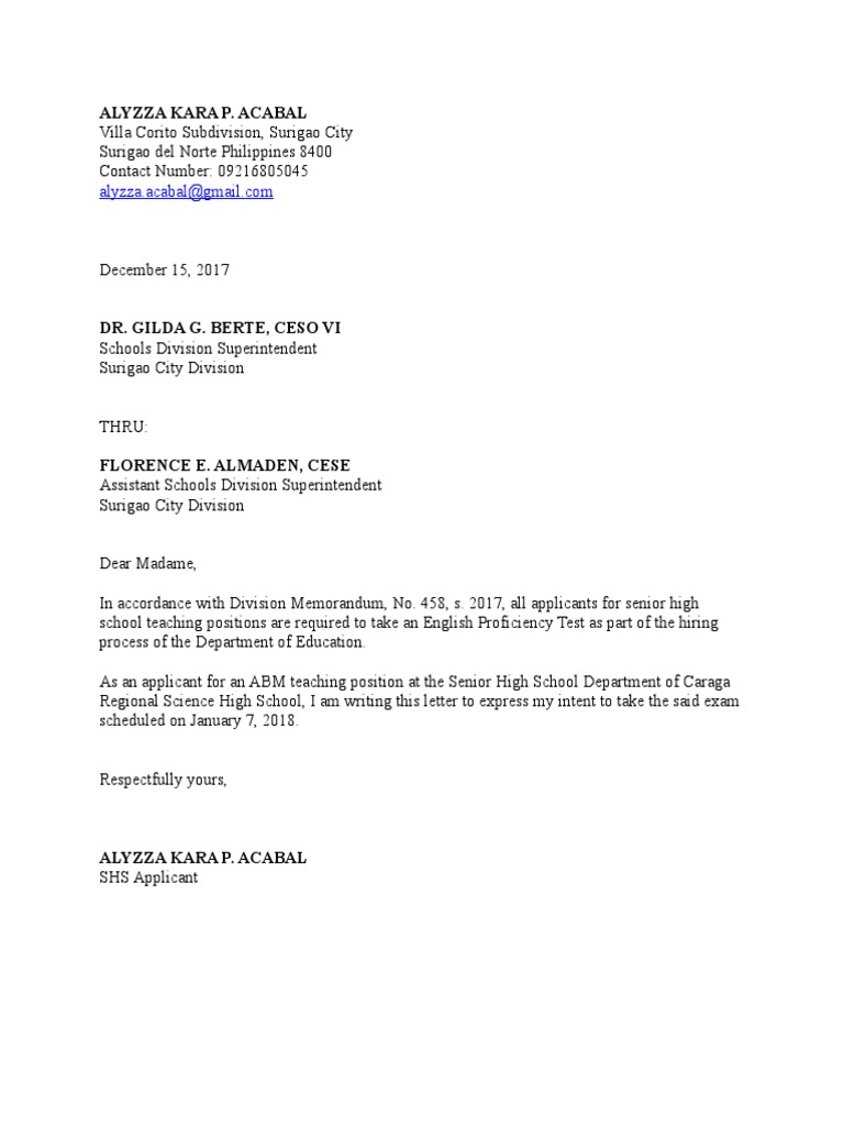 Letter Of Intent For Teaching Positions from imgv2-1-f.scribdassets.com