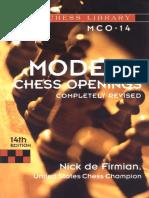 Nick de Firmian - Modern Chess Openings (MCO-14)