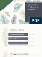 Inflasi Dalam Perekonomian Indonesia