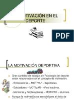 Clase I - Motivacion en El Deporte