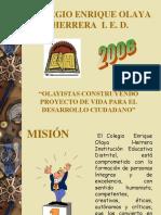 Enrique Olaya presentación