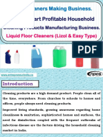 Floor Cleaners Making Business.