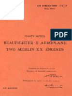Pilot's Notes Beaufighter II Ae - Air Council