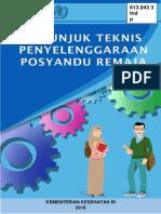 BK2017 Petunjuk Teknis Posyandu Remaja