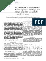 Marschollek Et Al. - 2008 - A Performance Comparison of Accelerometry-based Step Detection Algorithms on a Large, Non-laboratory Sample