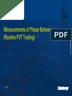 PVT Testing