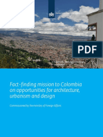 Opportunities for Architecture Urbanism and Design in Colombia