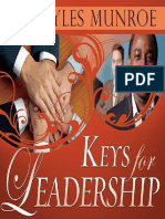 Keys for Leadership - Myles Munroe