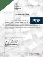 CERTIFICACION LABORAL ULISES  CAJERO.docx