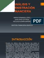 Análisis y Administración Financiera