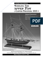 Model Shipways -  MS2003 Dapper Tom Instructions