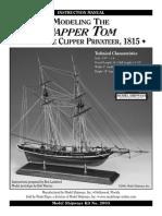 Model Shipways -  MS2003 Dapper Tom Instructions