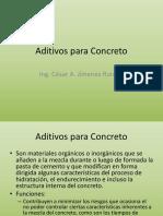 5- Aditivos Para Concreto