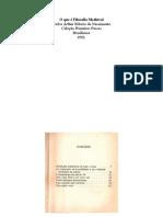 O QUE É FILOSOFIA MEDIEVAL.pdf