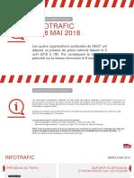 Les prévisions du trafic SNCF pour la journée du 8 mai 2018